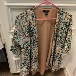 H&M Silk Kimono Jacket